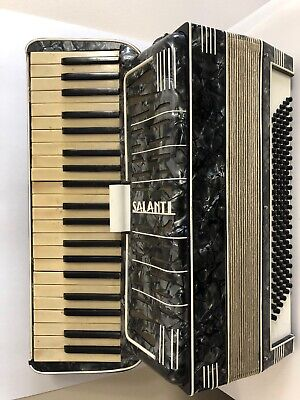 Salanti Accordion Made In Italy - Vintage - Tested & Working - Beautiful Piece