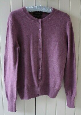 T383470 /& Spencer Marks M/&S Autograph BLUEBELL Puro Cashmere Cardigan RRP £ 89