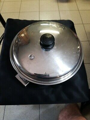 Saladmaster #7817 11 inch Electric Skillet Complete , Clean Works Perfect!