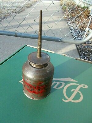 Vintage Minneapolis Moline Oil Dabber Can Red
