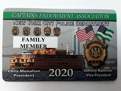 "1 2020 ""Authentic"" Family Member  Cea  Pba Card """" Not A Lba Sba Dea Pba  Card"""""
