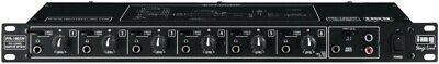 New Boxed IMG STAGELINE PPA-100 6 CHANNEL HEADPHONE AMPLIFIER