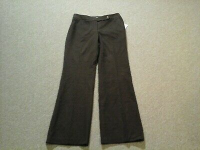 Calvin Klein,NWT,brown Classic Fit stretch dress pants,womens 8, So Soft!