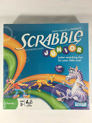 Parker Brothers Scrabble Junior Crossword Board Game. New Sealed