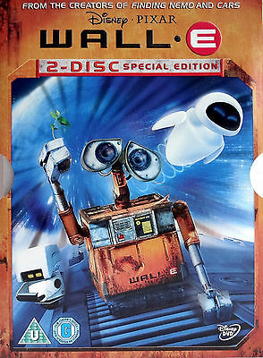 WALL-E - 2 Disc Special Collectors Edition Disney Pixar (UK 2x DVD Region2) RARE