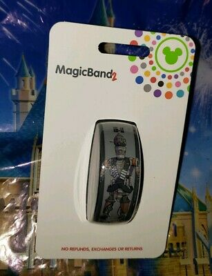 NEW DISNEY PARKS Star Wars GREY IG-11 The Mandalorian Magicband Magic Band GRAY