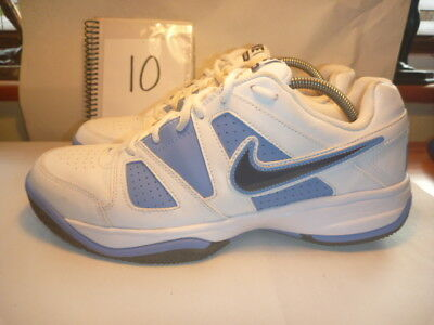 Nike City Court Vii Trainers Size Uk 10 White Leather