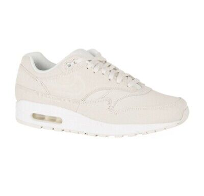 NIKE AIR MAX 1 Prm Suede Trainers Uk 4 Eu 37 Womens 454746