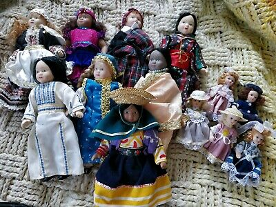 Ceramic cultural doll collectables