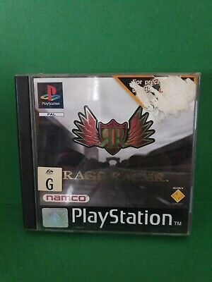 Rage Racer with Namco Demo Disc 🕹 PS1 SONY PLAYSTATION 1🕹FREE POST