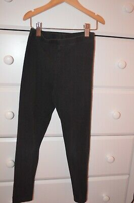 Ralph Lauren Black Full-Length Leggings Size Medium (8-10)