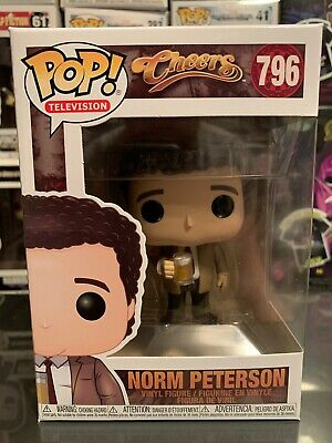 NORM PETERSON 796 39345 VINYL FIGURE IN STOCK TELEVISION CHEERS FUNKO POP