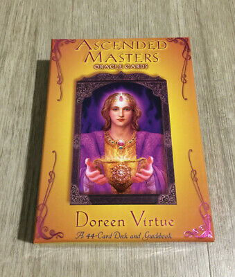 Doreen Virtue Ascended Masters Oracle Deck 44 Cards And Guidebook Very Rare