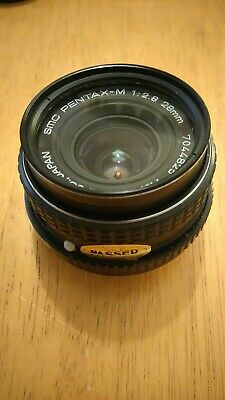 Offers. Smc-Pentax-M 28mm manual prime F2.8 Lens Japan Original Box + Paperwork