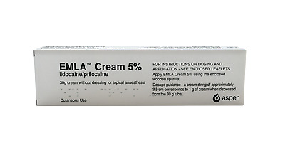 Numbing Cream 2 x 30g (Without Dressing Surgical Pack)