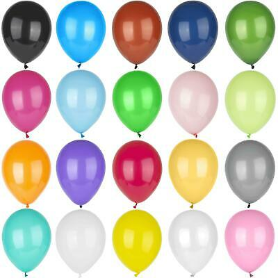 "10-100, Pearl LATEX BALLOONS, 10"", Helium. Party, Birthday, Wedding, Christening"