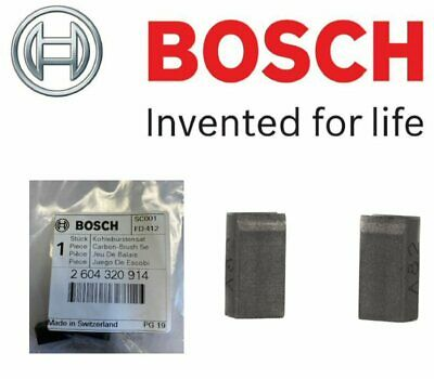 BOSCH 2604320914 Carbon Brushes (To Fit: GST 100 Jigsaw Models Listed Below)