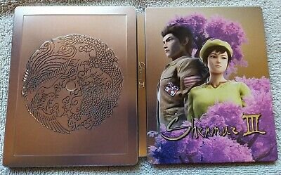 READ STEELBOOK ONLY NO GAME Shenmue 3 / III PlayStation 4 / PS4 NEUF BRAND NEW
