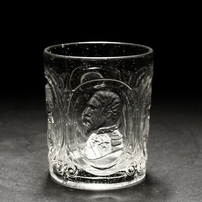 19th Century Baccarat Royal Portrait Whisky Glass Tumbler C1880