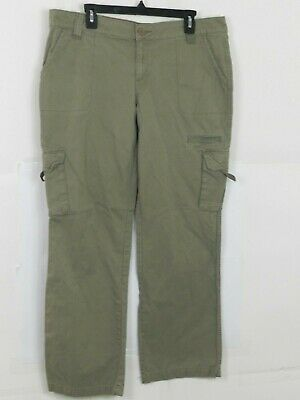 Dickies Womens Sz 14 Cargo Work Pants Relaxed Fit Size 14 Beige