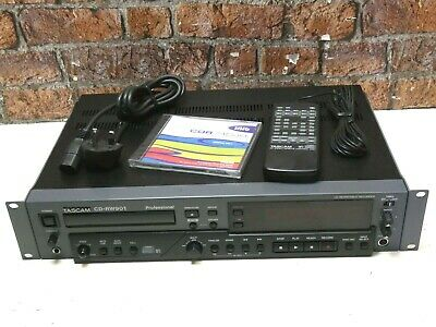TASCAM CD-RW901 Professional CD Recorder, Rewriter & Player + Remote Control