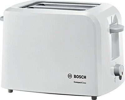 Bosch TAT3A011GB Village Collection 2 Slice Toaster - WHITE-BRAND NEW SEALED