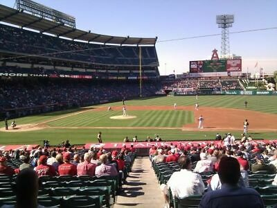 2 of 4 TICKETS TAMPA BAY RAYS @ LA ANGELS 8/21 *TERRACE MVP FRONT ROW*