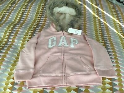 Girls Gap Hoodie Age 3 Years Bnwt