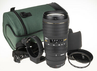 Sigma 70-200mm f/2.8D APO EX HSM for Nikon +pouch, ring, hood   excellent cond.