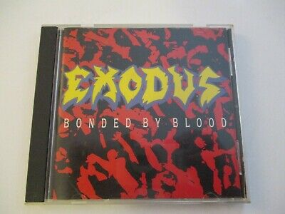 Exodus  Bonded by Blood  CD, Oct-1989, Combat Records
