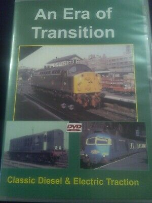 The Era Of Transition Classic Diesel & Electric Traction. Train Railway DVD