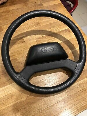 LAND ROVER DEFENDER XS PUMA Td5 TDI 48 LEATHER STEERING WHEEL 2