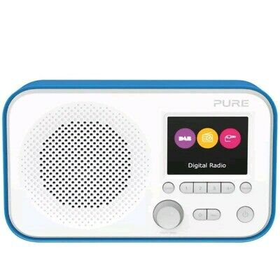 Pure Elan E3 Portable Digital DAB+ FM Radio with Alarm -