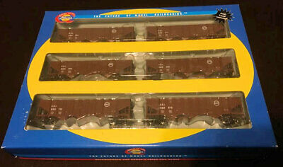 Athearn 40' 3-bay ribbed Hopper C&EI (CEI) HO SCALE 6-pack NEW OLD STOCK #1