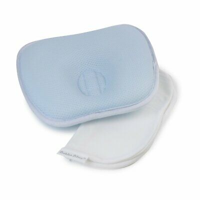 Bubba Blue Breath Easy Infant Baby Head Rest Support Blue