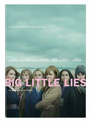 Big Little Lies Season 2 (DVD, 2019) NEW Nicole Kidman Reese Witherspoon