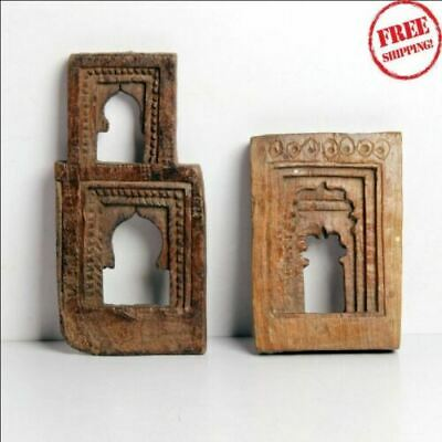 Antique Wooden Miniature Hand Carved Different Wall Hanging Frames/ Mirror India