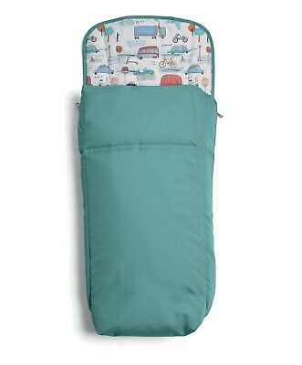 Mamas and Papas City Transport Teal Pram Universal Footmuff Cosytoes