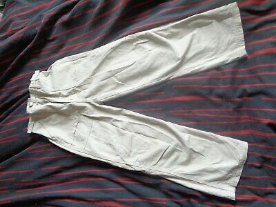 caramel beige combat cargo trousers for boys aged 9 years old adams new