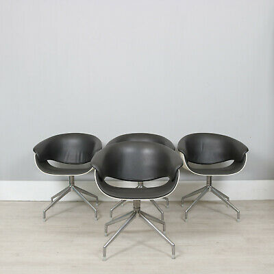 4 x BB Italia leather chairs | free delivery within London M25