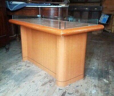 Mid Century Maple Island Store Counter