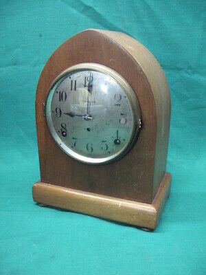 Antique Beehive Seth Thomas Cathedral Arch Mantle Clock For Parts Or Repair