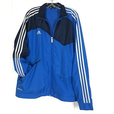 ADIDAS CLIMA 365 Mens Predator Jacket Black White Orange 3