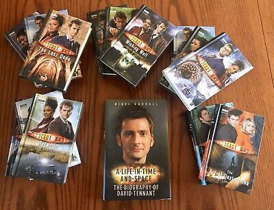 Lot of 14 • Doctor Who • BBC  Books Hit Series BBC  &  David Tennet Biography