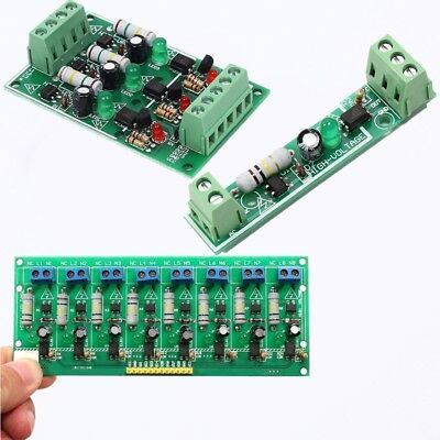 1-8 Channel AC 220V 8-Channel Optocoupler Isolation Testing Board PLC Processors