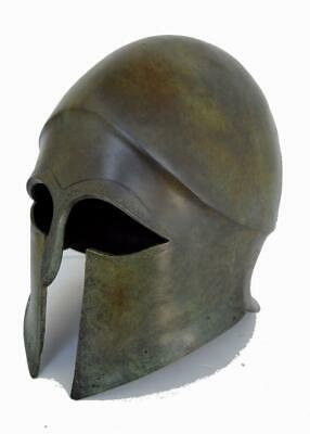 Corinthian Freestanding Bronze Helmet - Museum Replica Artifact - Ancient Greece