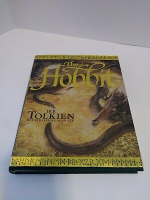 J.R.R.Tolkien THE HOBBIT Illustrated by Alan Lee 1997 Hardback with Dust Jacket