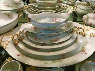 Limoges.Dinner and Tea Set, France