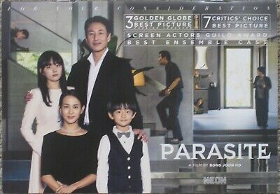 Parasite 2019 Official Promo Fyc For Consideration 30-Page Booklet Bong Joon Ho
