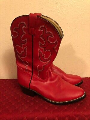 Square Toe 1733-Y Swift Creek Youth Girls/' Western Boot